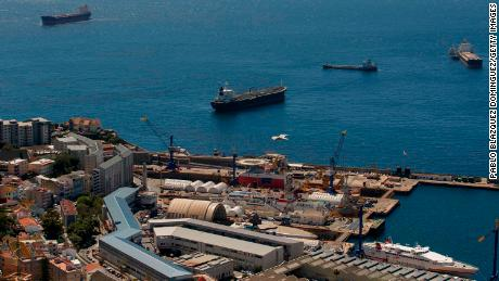 Gibraltar detains supertanker suspected of delivering oil to Syria