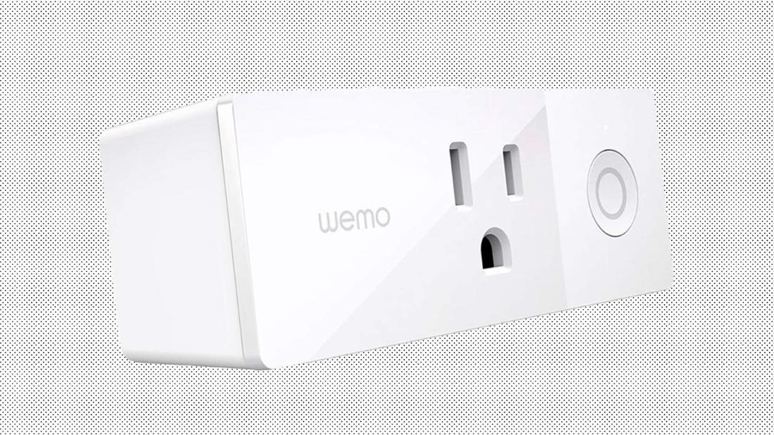 Score a Wemo Mini Smart Plug for the lowest price ever