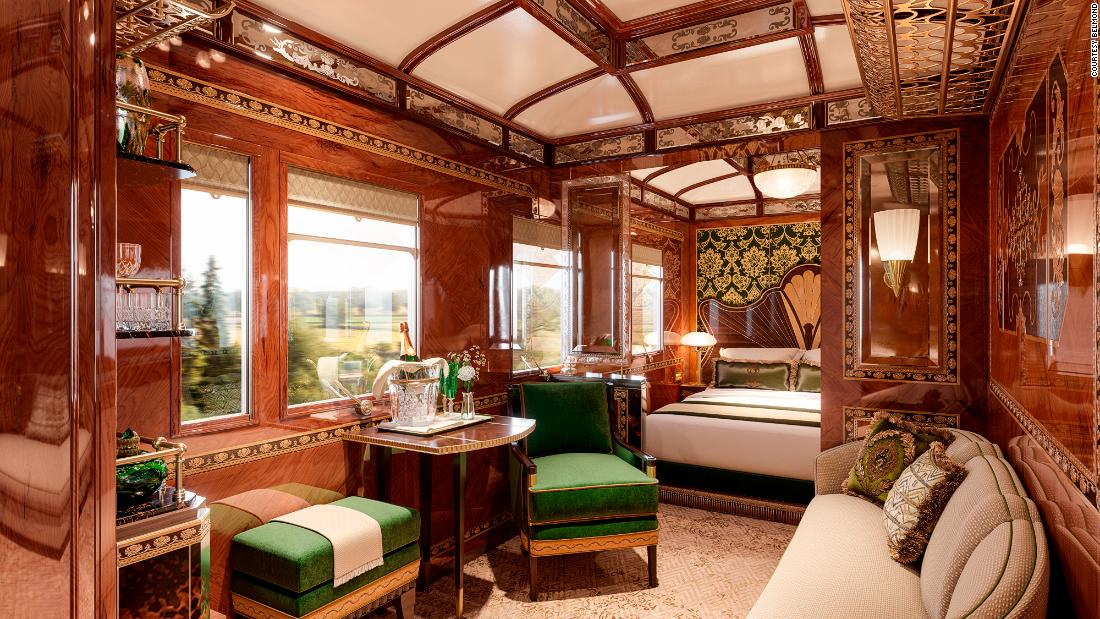 Is this the most luxurious train carriage in the world?