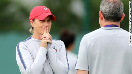 Ellis is one of nine female head coaches at France 2019.
