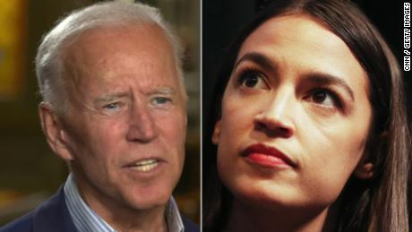 CNN Exclusive: Biden expresses skepticism of Democrats' leftward tilt and AOC's mass appeal