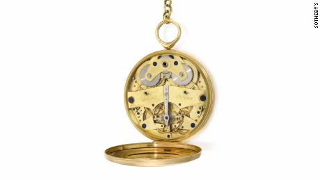 Pocket watch inspired by the moon landing sells for record $4.5 million