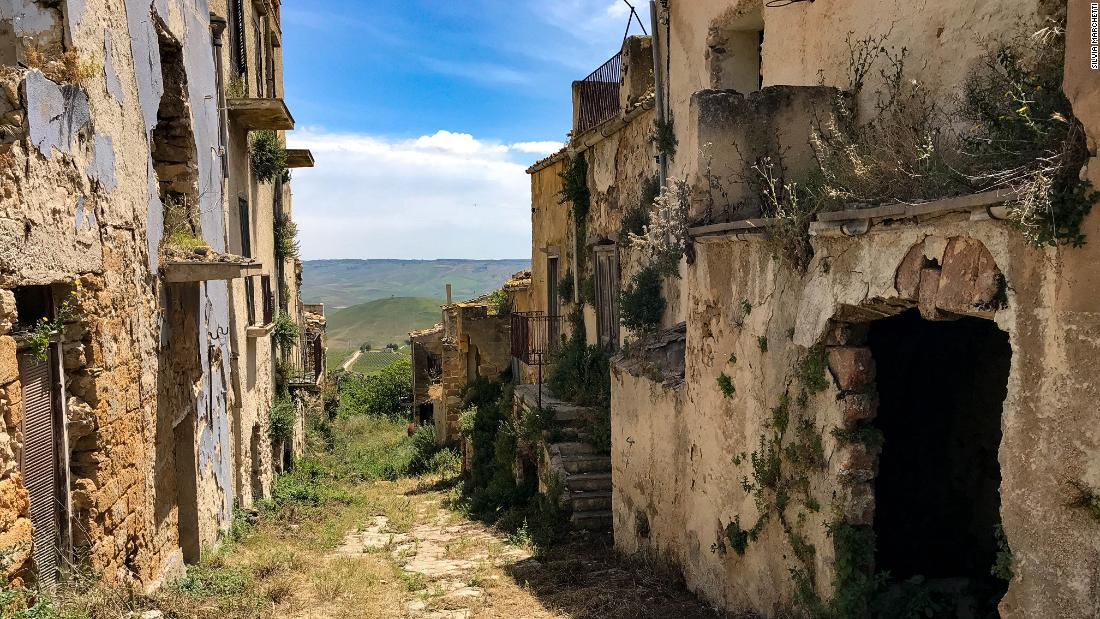 The Sicilian ghost town that refuses to die