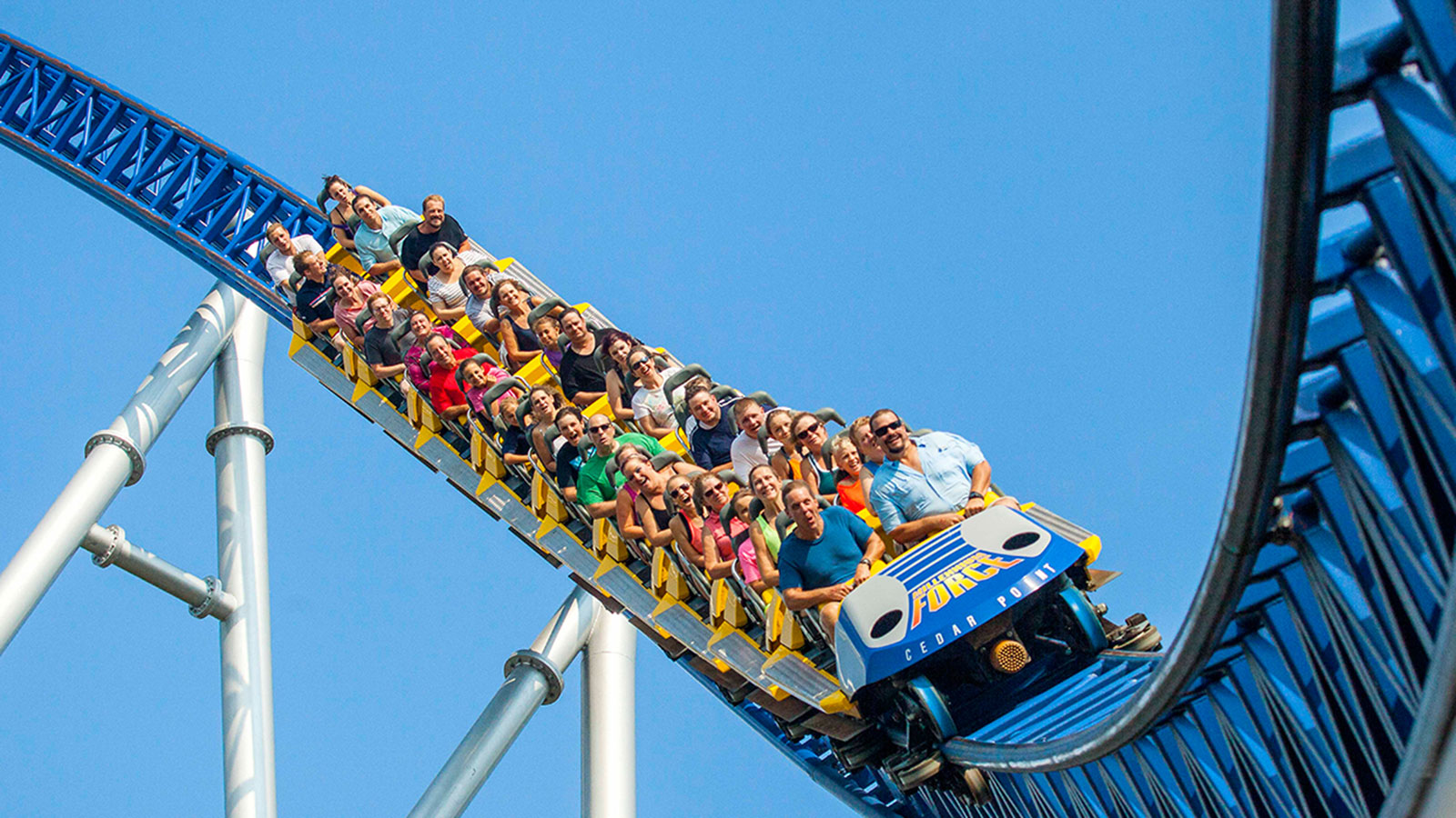 5 Scariest Roller Coaster Drops In The World The Hills That