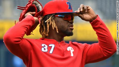 Phillies CF Odubel Herrera suspended for rest of season