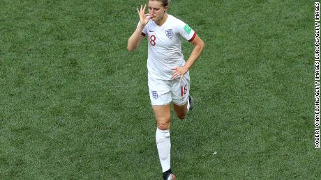 Ellen White scored one goal, but had another ruled out following a VAR decision.