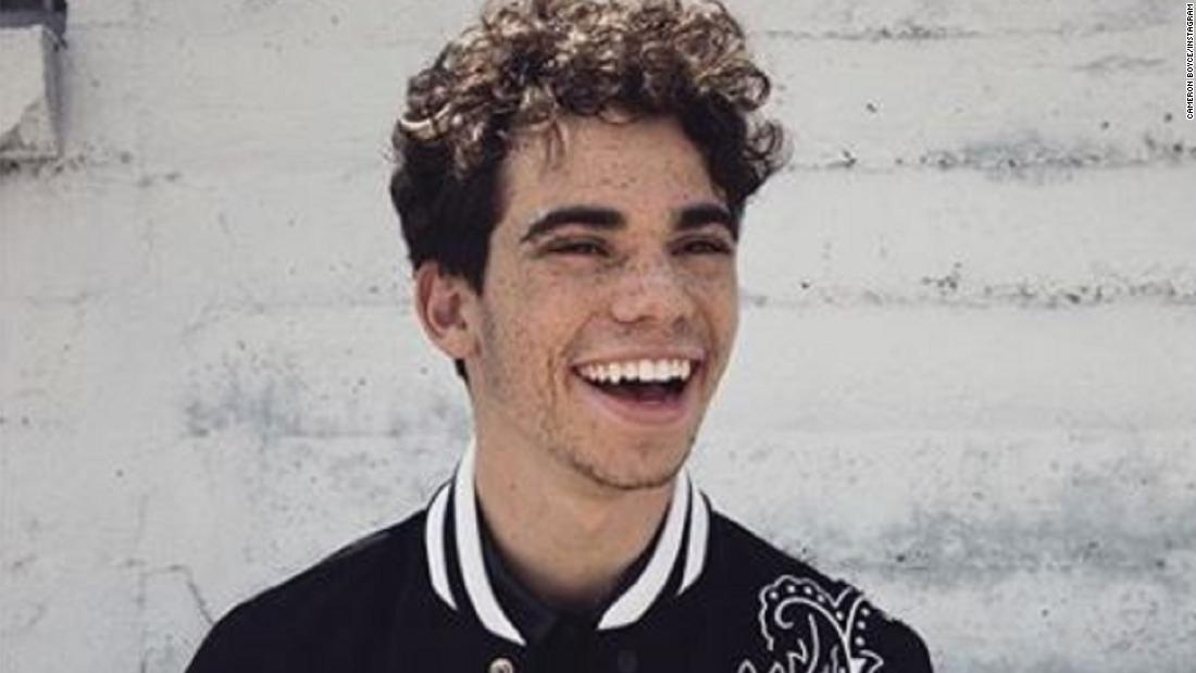 Cameron Boyce, Disney star, dies at 20 after a seizure, family says - CNN