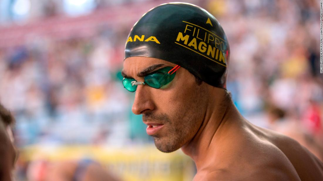 Olympic swimmer saves drowning man in Sardinia - CNN