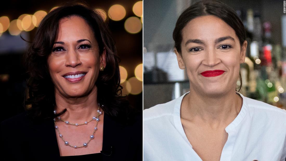 Kamala Harris, Alexandria Ocasio-Cortez team up on bill to help those with criminal records get housing - CNNPolitics