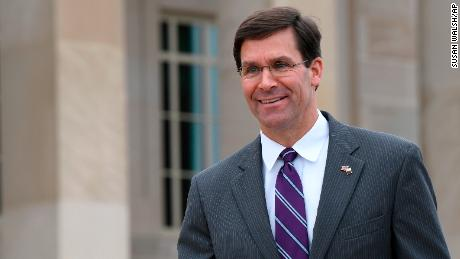 Defense Secretary nominee Esper spars with Warren over ties to defense contractor