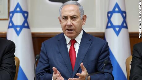 """Benjamin Netanyahu  said Peretz's comments """"don't reflect the positions of the government which I head."""""""
