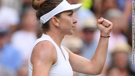 Flawless Simona Halep beats Serena Williams to win first Wimbledon
