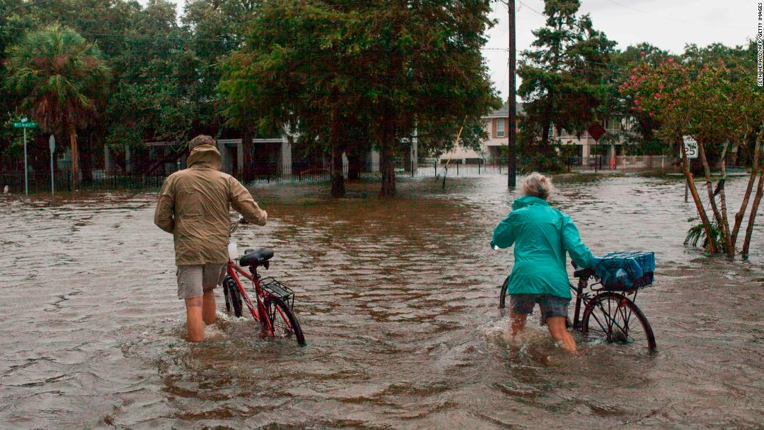 Lousiana is still grappling with widespread flooding, but it was spared the brunt of Barry's wrath. Here's why - CNN