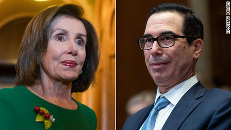 Mnuchin says Congress, Trump making progress on debt ceiling limit deal