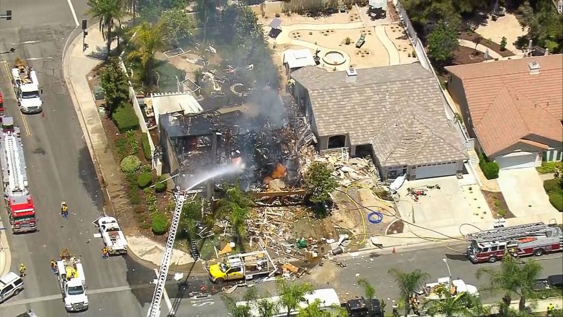 Murietta house explosion kills 1, injures 15 - CNN
