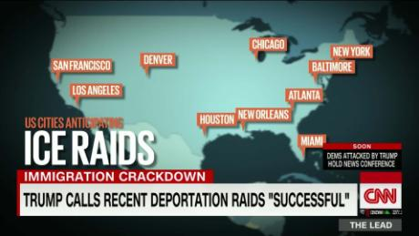 ICE official: 'No mass arrests' so far