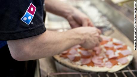 Domino's U.S. same-store sales up just 3%, misses estimates