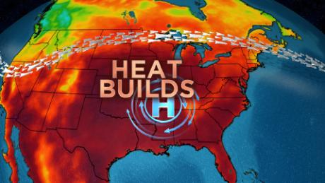 US heat wave just warming up for long and scorching weekend
