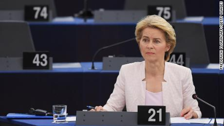 Germany's Ursula von der Leyen elected first female European Commission President