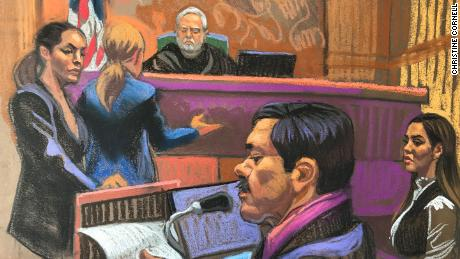 'El Chapo' was sentenced to life in prison after calling his trial unjust and slamming his prison conditions  Arrest of general shatters trust in Mexican military | Daily's Flash 190717123243 el chapo sentencing 0717 large 169  Arrest of general shatters trust in Mexican military | Daily's Flash 190717123243 el chapo sentencing 0717 large 169