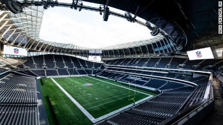 Spurs' stadium doubles up as a purpose-built NFL venue.