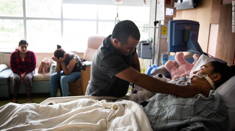 He tried for years to join his 13-year-old daughter in the US. Now they're finally reunited -- at her deathbed