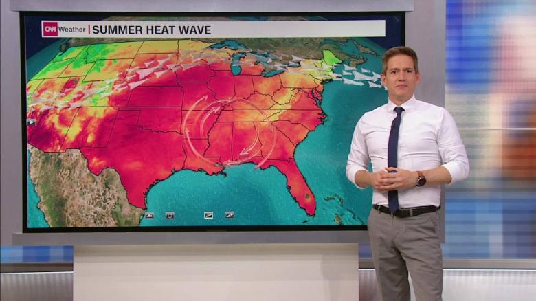 Record-Breaking Heat Wave Threatens Most of U.S.