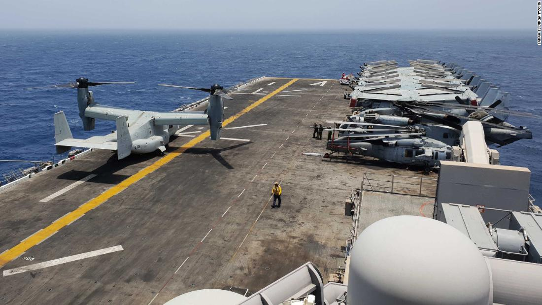 Iran crisis: On the USS Boxer, one small mistake could cause a war - CNN