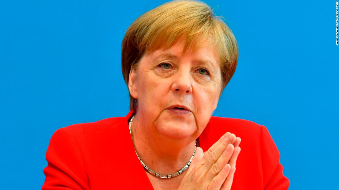 Angela Merkel criticizes Trump and stands in 'solidarity' with congresswomen he attacked - CNN