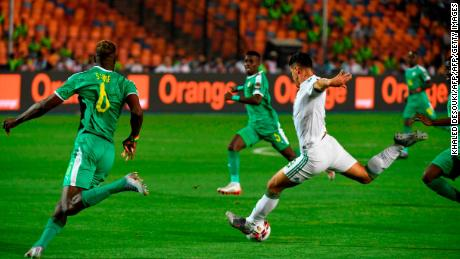Baghdad Bounedjah's shot deflected off Salif Sane and into the goal.