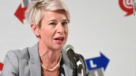 Controversial British commentator Katie Hopkins' Twitter account permanently suspended for 'hateful conduct'
