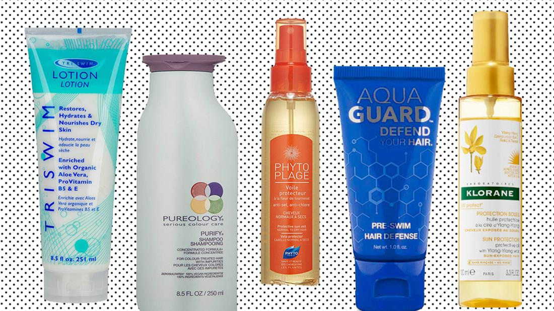 Is your hair or skin damaged by chlorine? These genius products can help