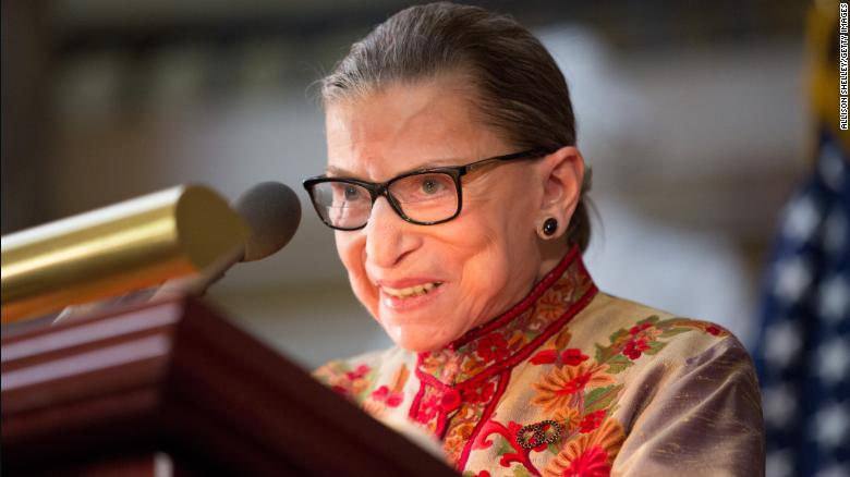 Ruth Bader Ginsburg treated for malignant tumor