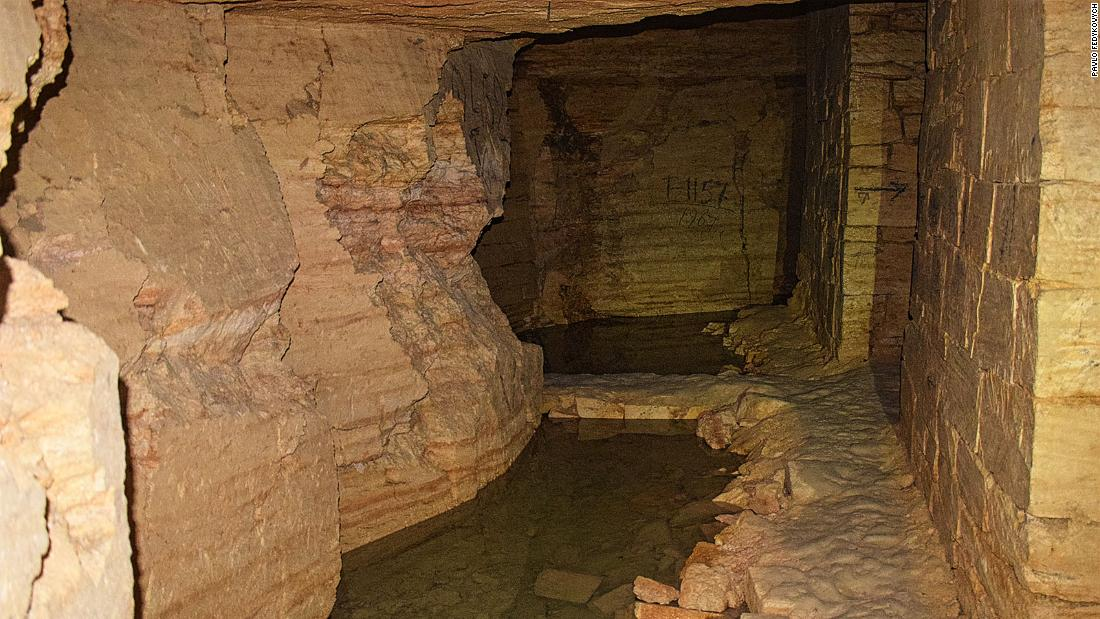 Dark secrets of Odessa's vast catacomb labyrinth