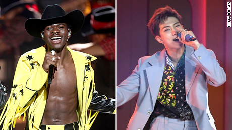 Lil Nas X and RM of BTS drop new & # 39; Old Town Road & # 39; remix