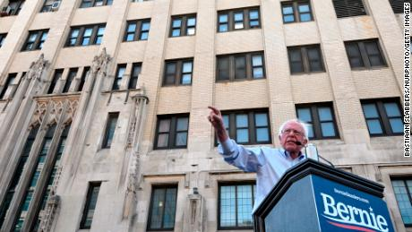 Senator Bernie Sanders held a rally at Hahnemann Hospital in early July, promising to enact legislation that would create a $ 20 billion fund to help local governments to buy hospitals in financial distress.