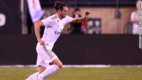 Gareth Bale came off the bench during Real's 7-3 humiliation at the hands of Atletico Madrid.