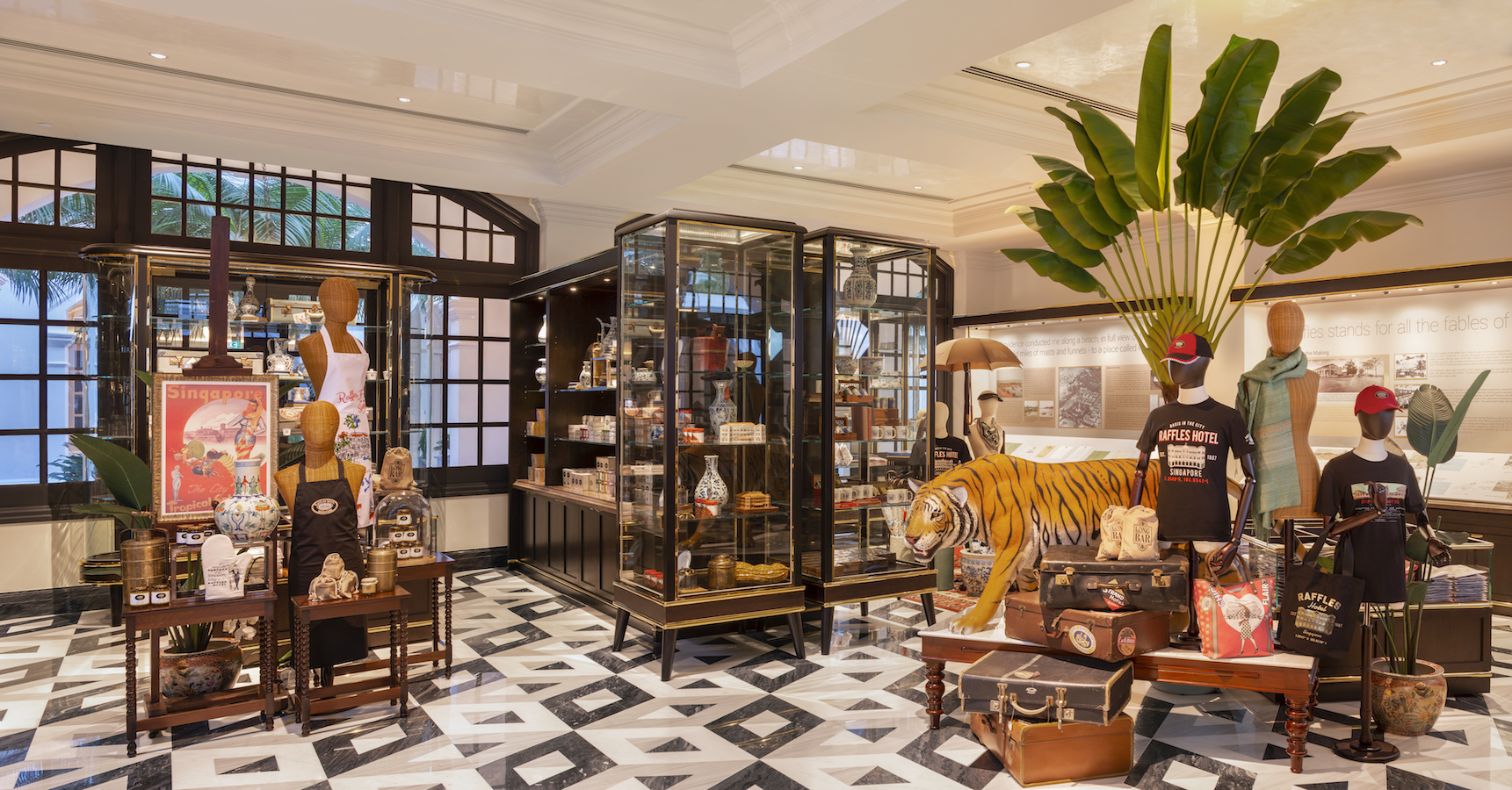 Raffles Hotel in Singapore reopens after huge makeover