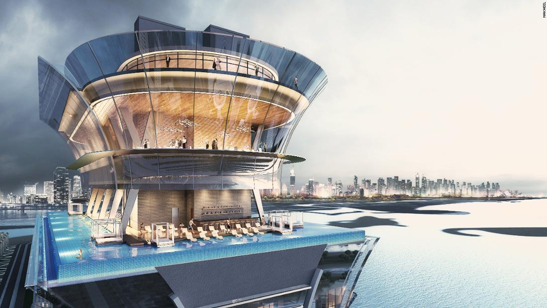 How Dubai is building one of the world's highest infinity pools