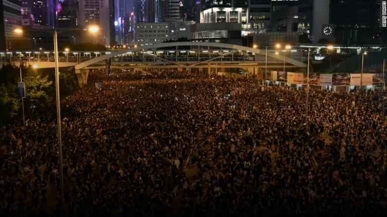 Flights Restart at Hong Kong Airport as Protesters Apologize