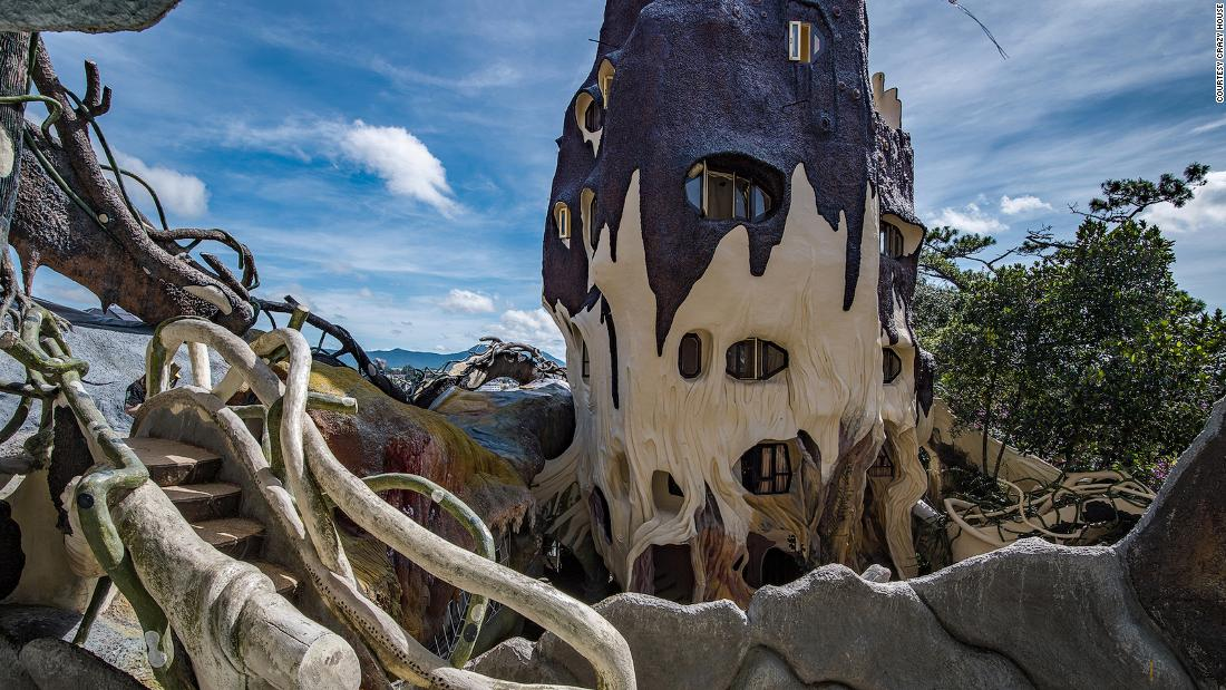 The story behind Vietnam's 'Crazy House'