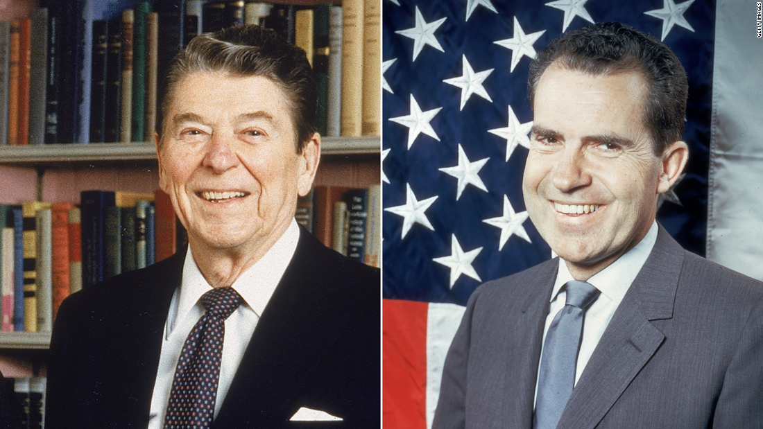Reagan's racist call with Nixon echoes strongly today (opinion) - CNN