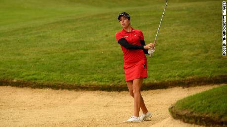 England's Georgia Hall is the reigning Women's British Open champion.