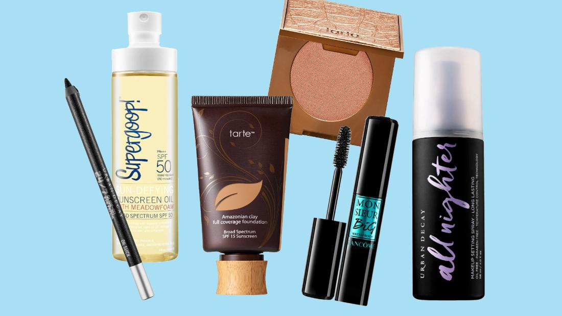 Actually waterproof and water-resistant makeup that will survive your beach plans