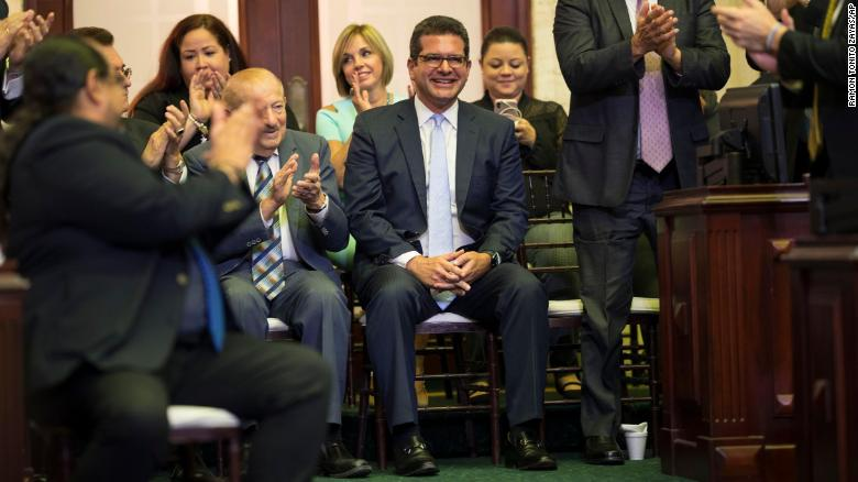 Puerto Rico Gov. Ricardo Rossello officially resigns, Pedro Pierluisi sworn in