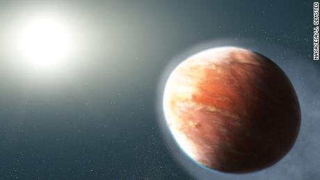 Hubble Space Telescope Discovers Hot 'Heavy Metal' Exoplanet Shaped Like A Football!