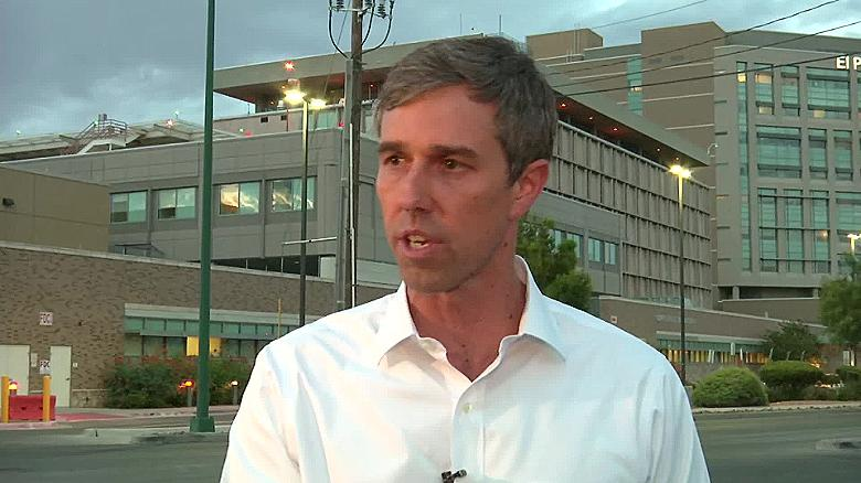 After shooting, Democrat O'Rourke accuses Trump of stoking racism