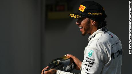 Lewis Hamilton extended his championship lead over Valtteri Bottas, who struggled to eighth place.