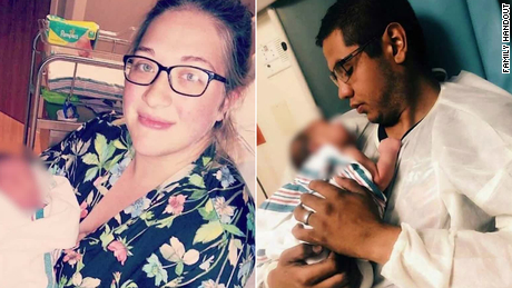 They died shielding their infant son from gunfire