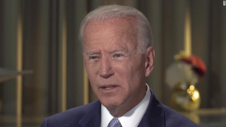 Biden says Trump's 'toxic tongue' fans flames of white supremacy